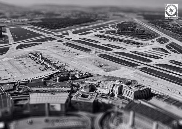 Zurich's airport 5X3I8281