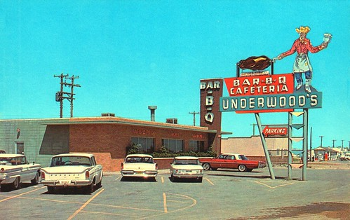 Underwood's Bar-B-Q Cafeteria - Amarillo, Texas | by The Cardboard America Archives