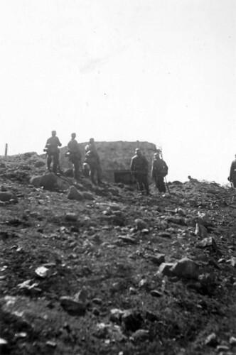 En bunker ved Titowka har falt
