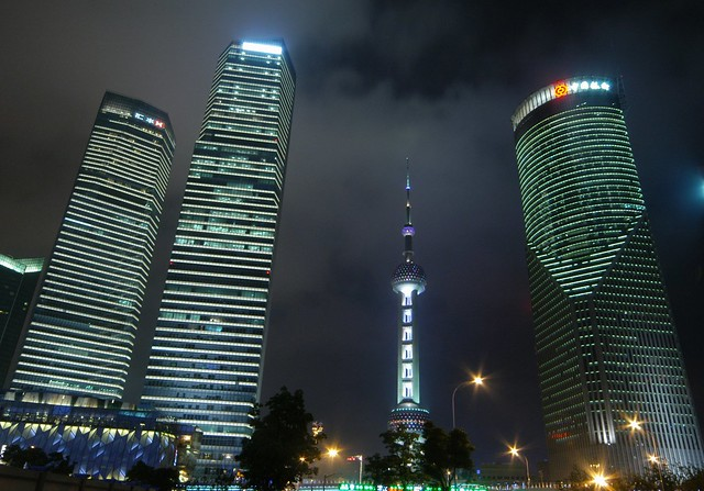 Shanghai - Lujiazui Financial District