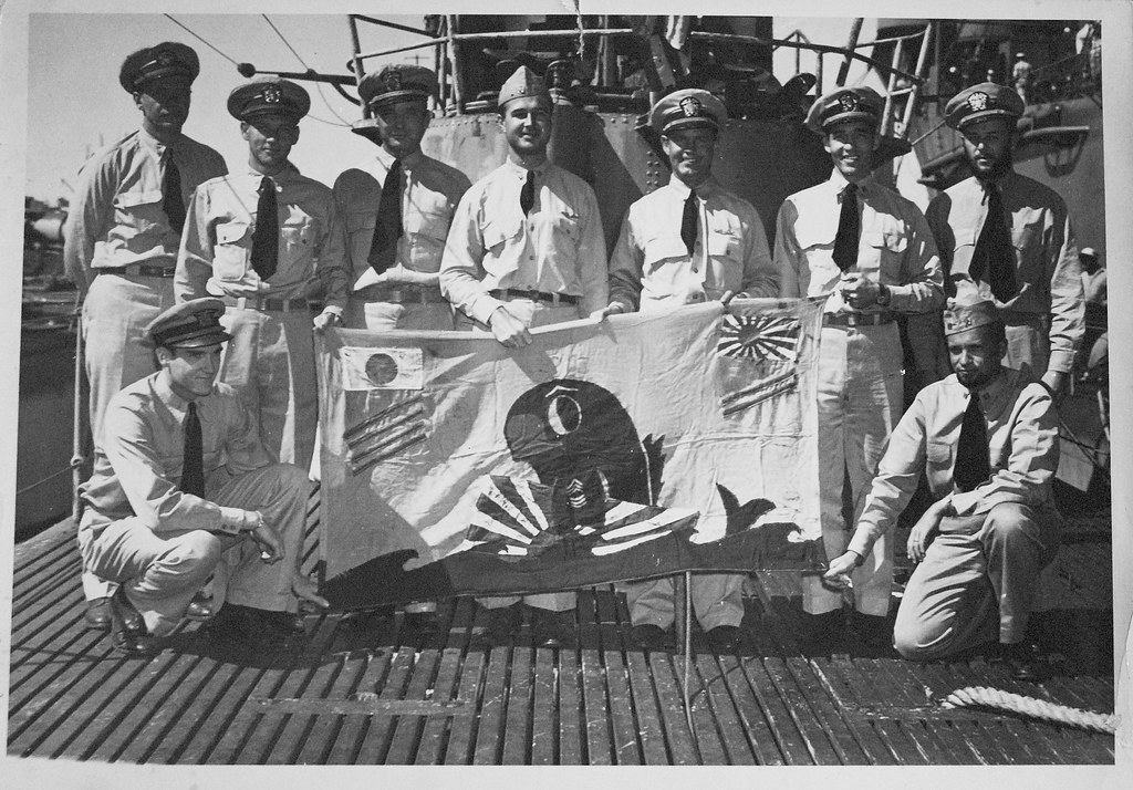 USS Cobia (SS-245) Battle Flag | Officers of the submarine C… | Flickr