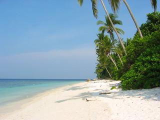 A beach on Pulau Tengah