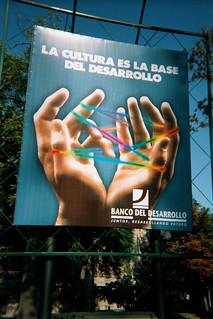 Propaganda from el Banco De Desarollo