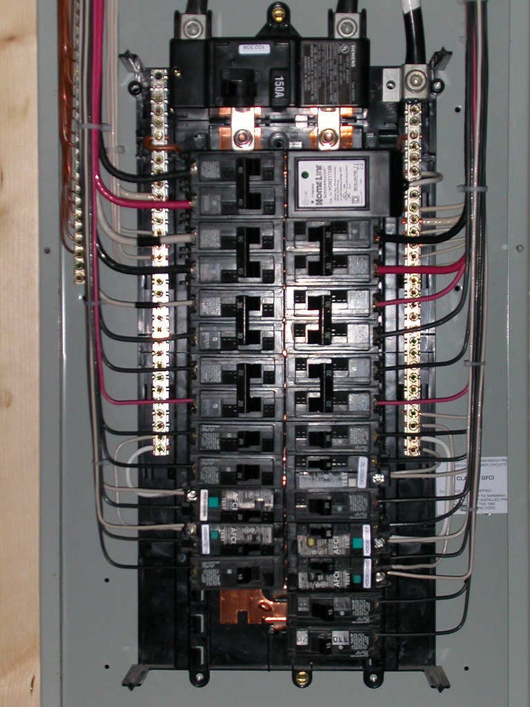 Electrical closeup | Siemens 30/40 150A Main Breaker panel