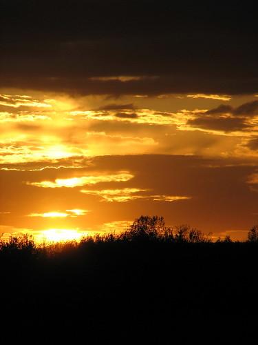 sunset canada spring québec printemps coucherdesoleil mirabel