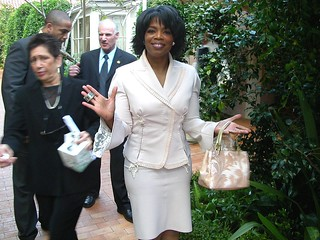 Oprah at her 50th birthday party | by Alan Light