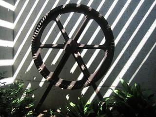 Oakland Museum, artifact and sun