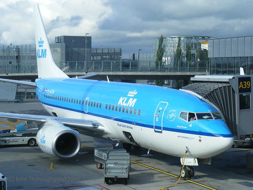 KLM B737-7 PH-BGW at Oslo 14-7-14 | by hotsquirrel