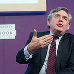 Gordon Brown | The former Prime Minister speaks about his book My Scotland, Our Britain at the Book Festival © Alan McCredie