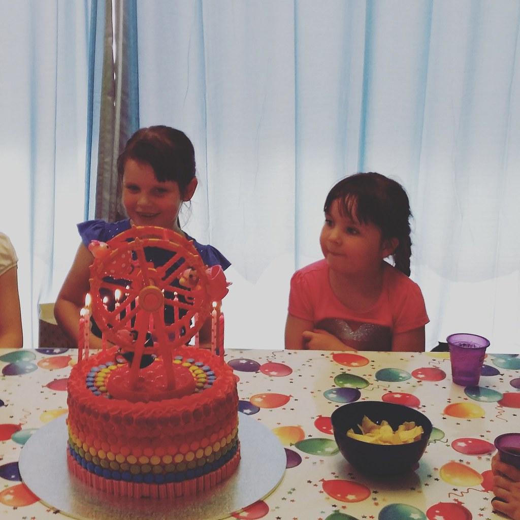 Zoe's 7th / Grace's 5th Birthday