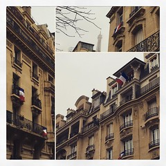 French flags #paris #parisnow #flags  #frenchflags #drapeaufrancais #hommagenational