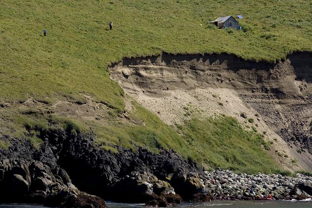 Kasatochi cliffs