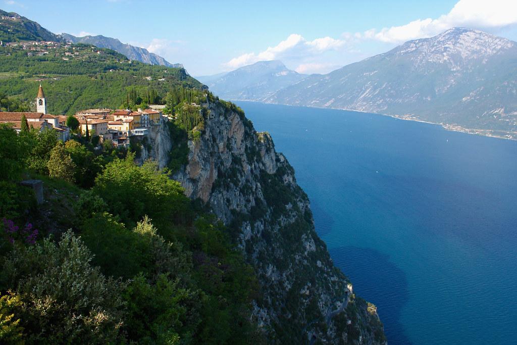 View From Terrazza Del Brivido Tremosine Lago Di Garda