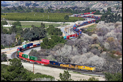 up union pacific sp southern sunset route yuma subdivision beaumont hill ordway san timoteo canyon gorgonio pass