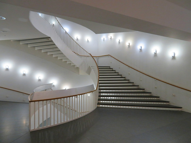 Staircase, Museum of Contemporary Art, Chicago, Illinois
