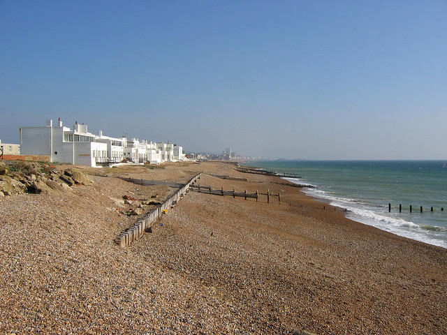 The beach at Portslade-by-Sea