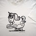 """Overweight Unicorn"" T-shirt"