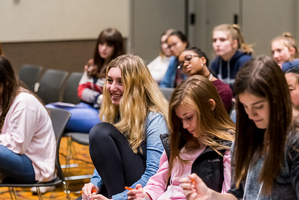 high school students discover stem careers at college of d