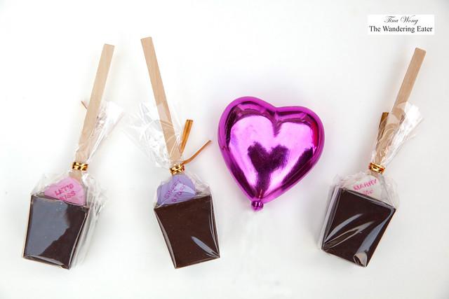 Valentine's Hot Chcolate Pops