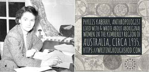 PHYLLIS KABERRY #100travelHERS   by sandrakaybee