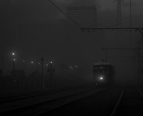 riverwalkstreetcar streetcarneworleans fog mississippiriverfog louisiana