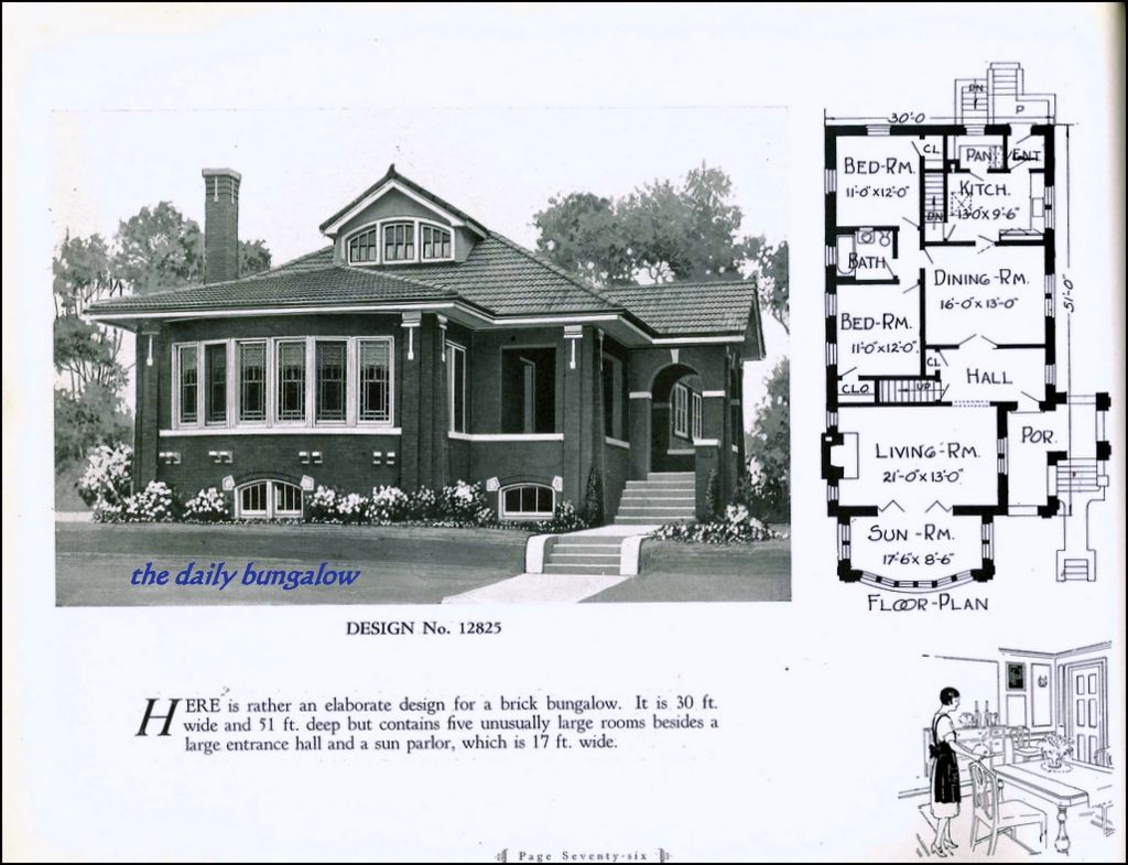 Small Beautiful Bungalow House Design Ideas Chicago Bungalow House Plans