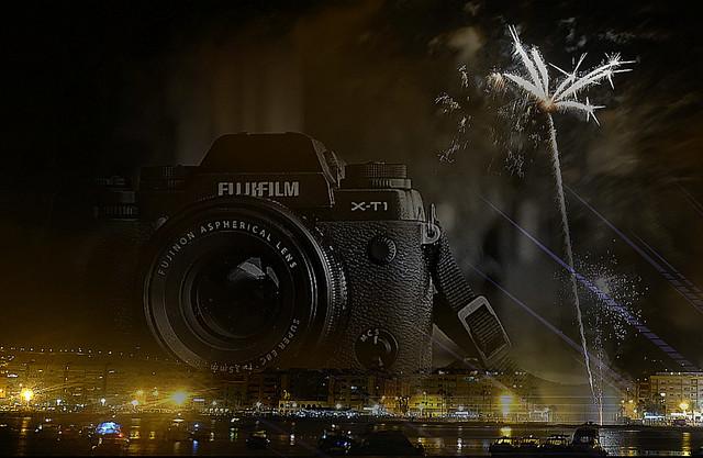 Fireworks with Fuji X-T1