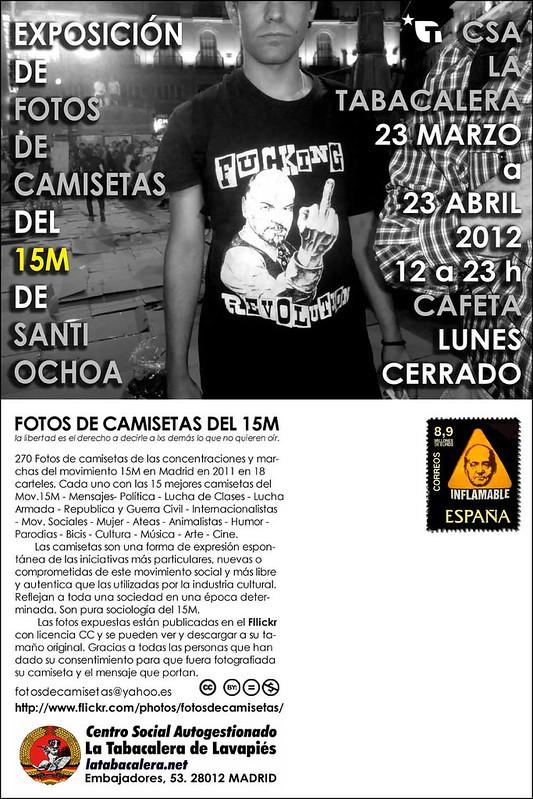 EXPO FOTOS CAMISETAS 15M