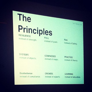 Woohoo! Got it! Poor quality pic but check out THE PRINCIPLES :) #nmc12 | by heloukee