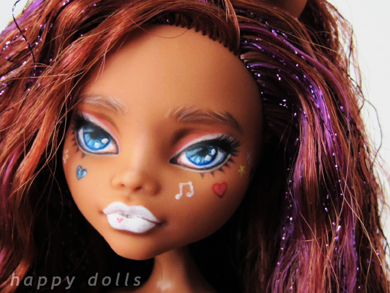 Clawdeen Ganguro Style Repaint I Thought It Would Be Fun Flickr