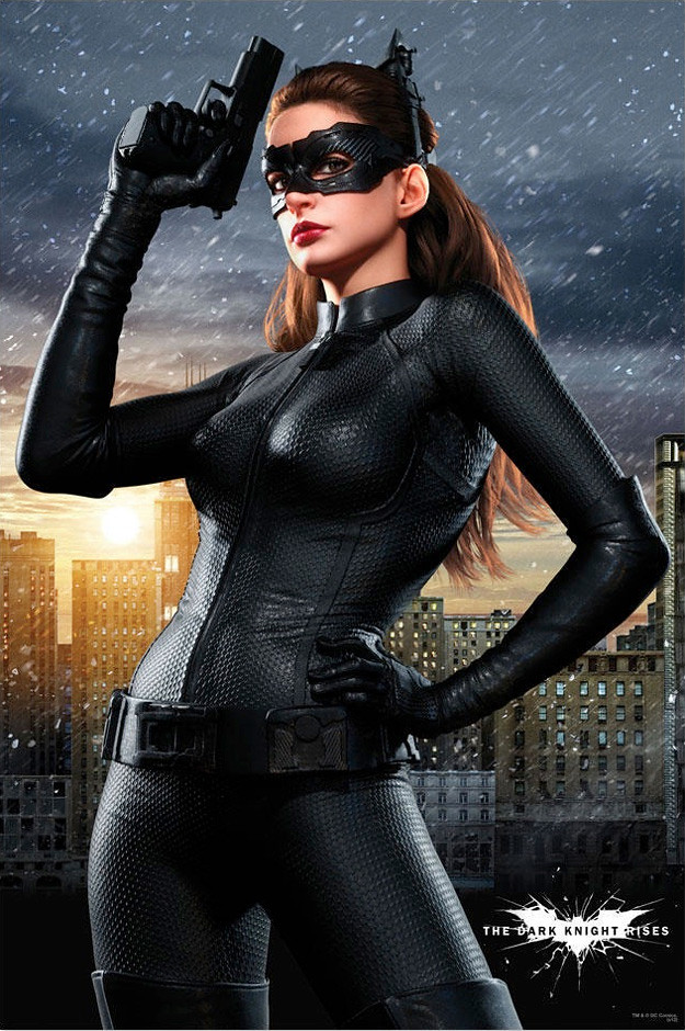 by Sexy New Poster of Anne Hathaway as Catwoman in The Dark Knight Rises! |  by
