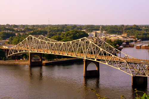 O'Neal Bridge - The Shoals, AL (Southern Bluff View)
