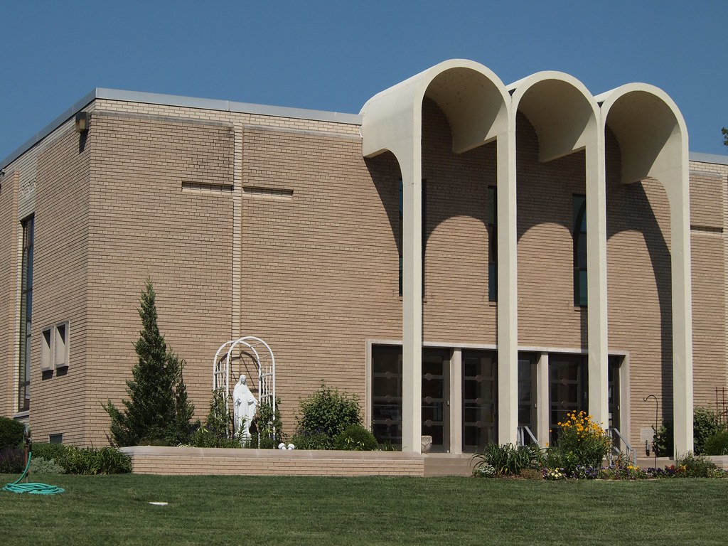 St David Mid Century Modern Catholic Church In Arnold Mo