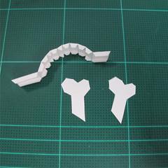วิธีทำโมเดลกระดาษตุ้กตา คุกกี้ รัน คุกกี้รสซอมบี้ (LINE Cookie Run Zombie Cookie Papercraft Model) 010