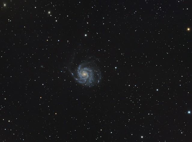 Messier 101 - The Pinwheel Galaxy