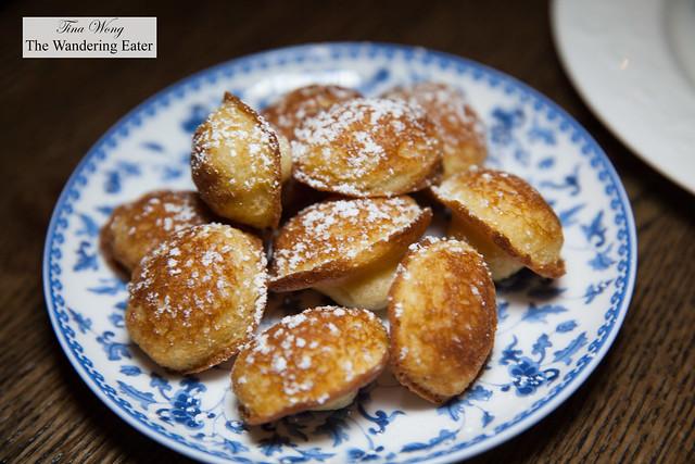 Fresh baked madelines