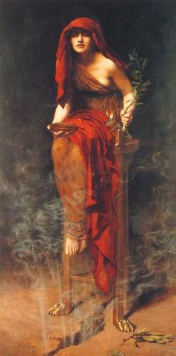 John Collier, Priestess of Delphi (S. Australia), From CreativeCommonsPhoto