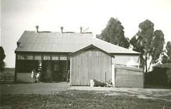 Angle Vale Road, Gawler Blocks Hall, rear c1950