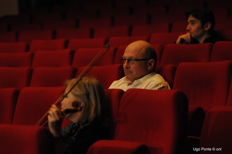 Lucyna Janeczek (co-soliste violon), Jacek Smolarski (violoncelle) & Gilbert Dinaut (Contrebasse solo)