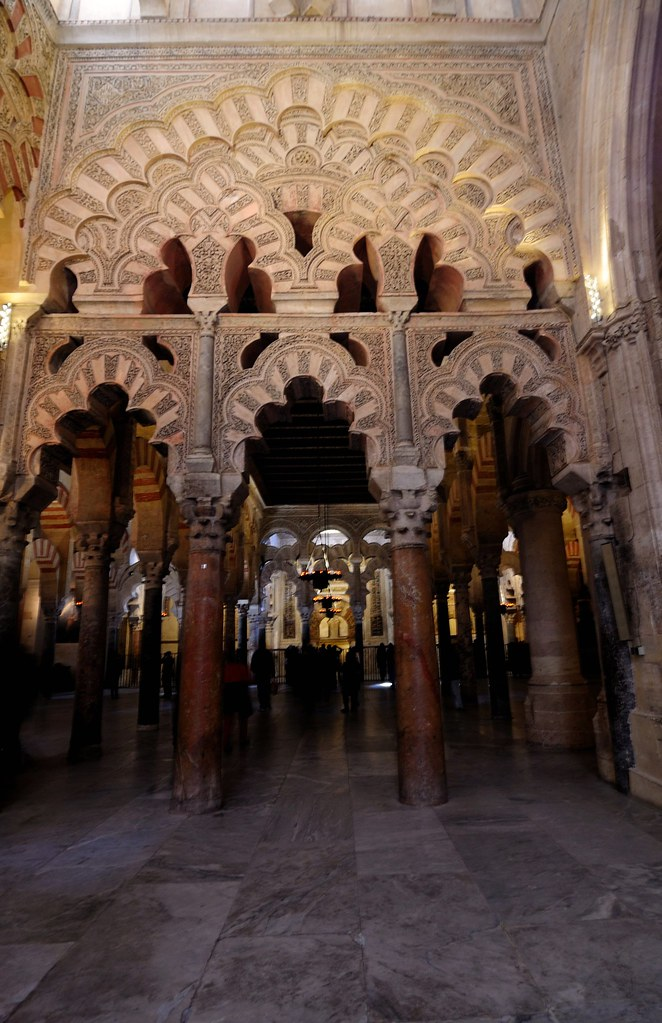 Cathedral-Mosque of Cordoba And the 9th century Mihrab Tha ...