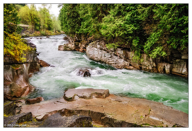 Eagle Falls on Skykomish River