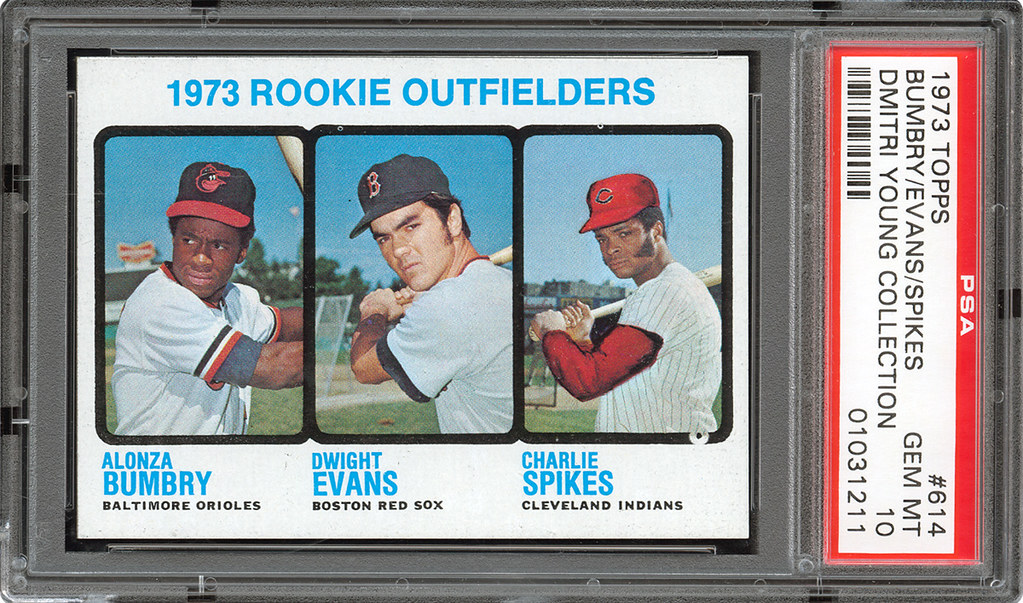 1973 Topps Dwight Evans Al Bumbry Rookie Card From The Dmi Flickr