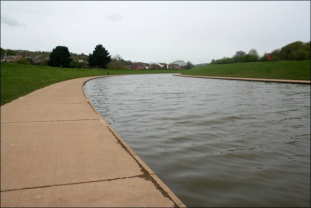 Exe flood channel