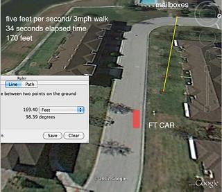 FT car position/ 5fps walk