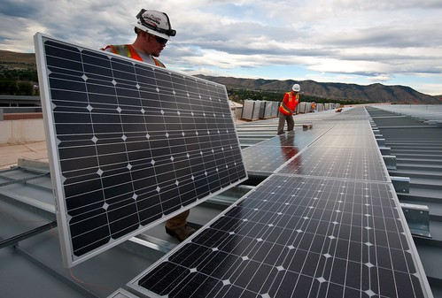 Installing Solar Panels | by U.S. Department of Energy