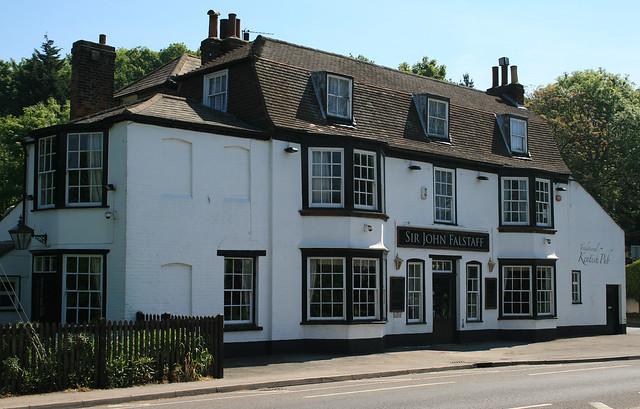 Sir John Falstaff pub, Higham, Kent