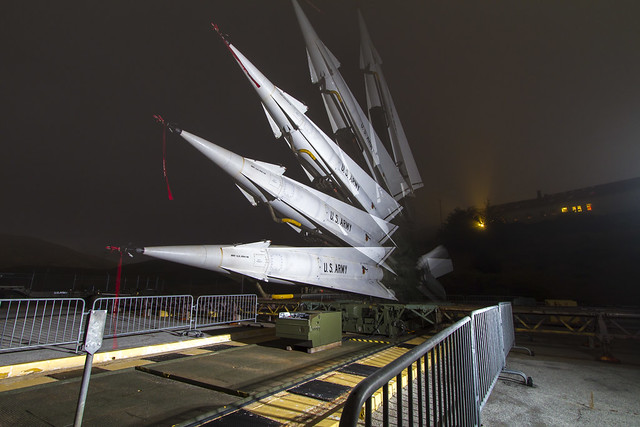SF-88 Nike Hercules Missile Site [00]: Launcher