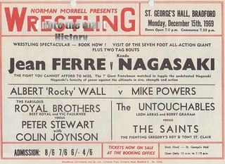 Andre the Giant 7' height billing 1969 | by andrethegiantrousimoff