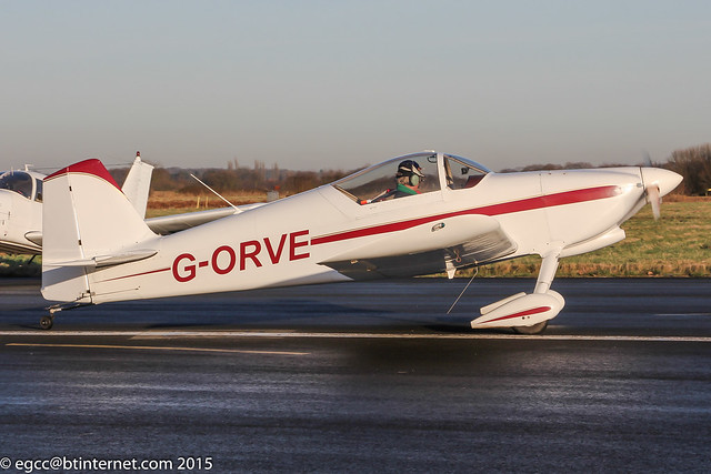 G-ORVE - 1994 build Vans RV-6, at the 2015 Revival Fly-In at Church Fenton