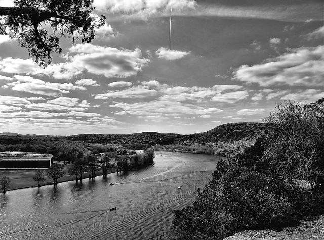 Lake Austin (Black & White)